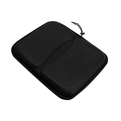 MorNon Extra Large Gel Exercise Bike Seat Cushion Cover Seat Pad for Bicycle Rowing Machine Stationary Bike