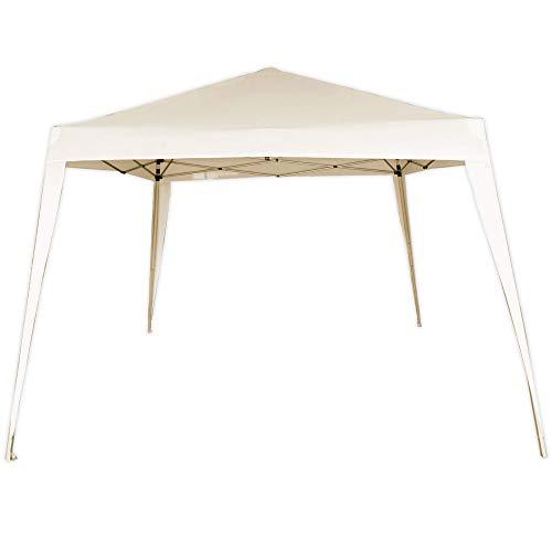 AKTIVE 61024 - Cenador plegable, Carpas para exteriores, 300x300x240 cm, Pérgolas baratas...