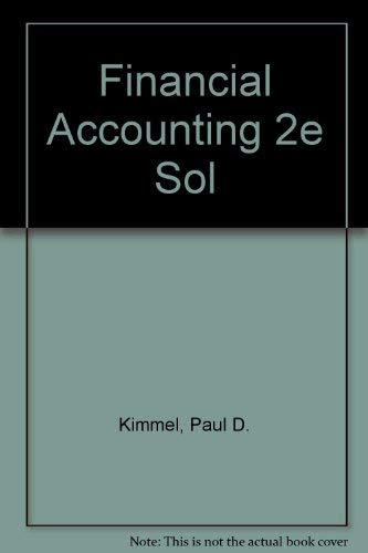 Download Financial Accounting 2e Sol 0471371807