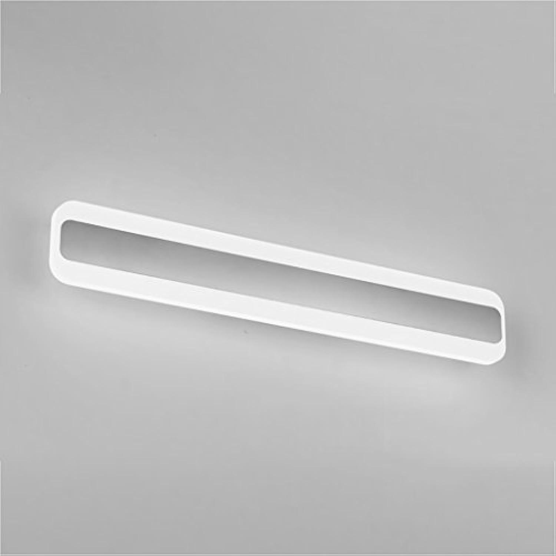 LED 16W 50CM Acryl Spiegel vorne Lampe modernen einfachen Bad wasserdicht Anti-fog Spiegel Schrank Lampe Wand Lampe Make-up Spiegel vorne Lampe weies Licht