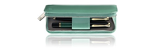 Pelikan 973305 TG181 Case for Writing Instruments Patent Leather Green