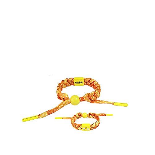 6 piezas Demon Slayer pulsera trenzada japonesa anime trenzado pulsera Cosplay accesorios de joyería para los fanáticos -B2