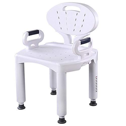Y&ZB Haushalt Non-Slip Bad Stuhl Hocker, ältere Kinder und Schwangere Frauen Badezimmer Sicherheit Dusche Unterstützung Stuhl Stuhl unabhängige Flow Assist,A