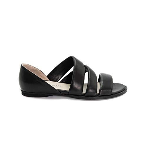 poesie veneziane scarpe POESIE VENEZIANE Ballerina Aperta TARR96 Nero