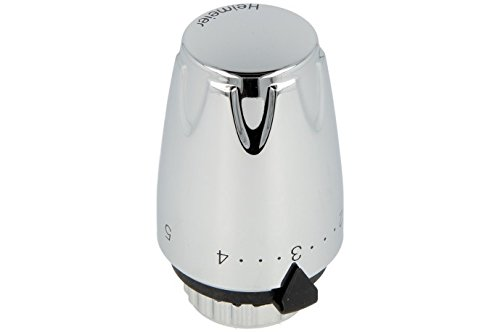 Heimeier Thermostatventil Modell: DX verchromt
