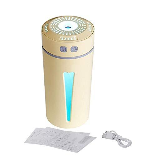 iBâste - Humidificador de Escritorio para Coche, USB, silencioso, para Dormir, hidratante, pulverizador de Agua, humidificador