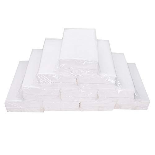 Tomaibaby - 10 rollos de papel higiénico para baño, suave, respetuoso con el medio ambiente, para hotel, oficina, hogar, color blanco