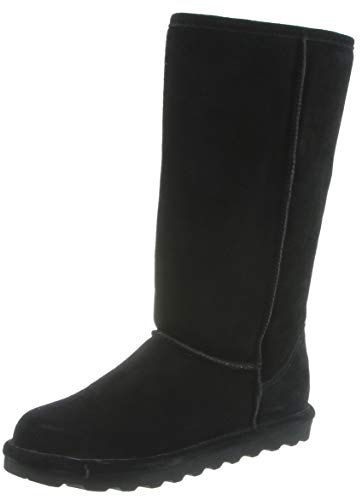 Bearpaw Women's ELLE Tall Fashion Boot, Black II, 8 M US