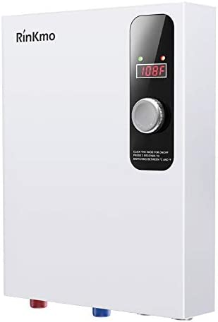 Rinkmo Electric Tankless Water Heater 18KW 240V Instant Hot On Demand Residential Electric Water product image