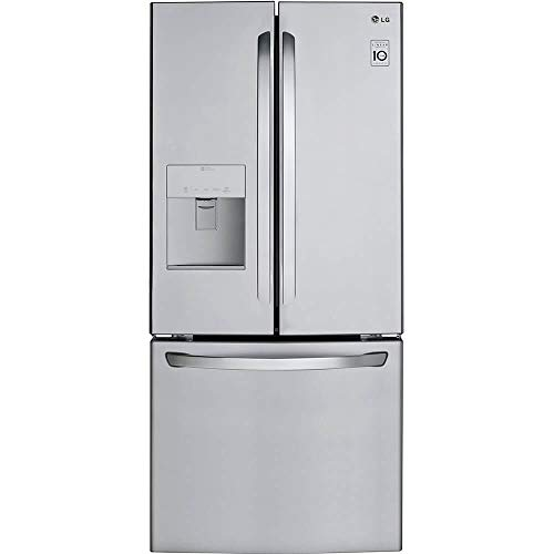 LG LFDS22520S 21.8 cu. ft. 3-Door French Door Refriger