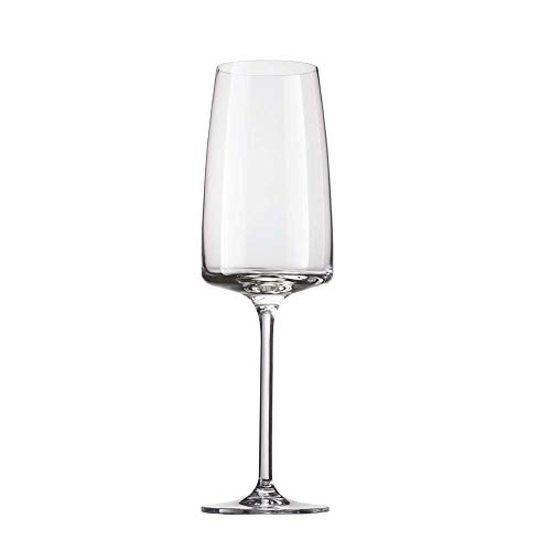 Schott Zwiesel 142155 Sensa Champagneglas Light und Fresh, 0.388 Ltr Kapazität, Transparente, 6 Stück