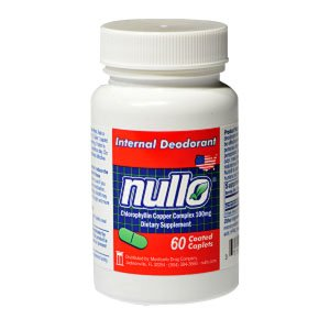 Nullo Deodorant Tablets