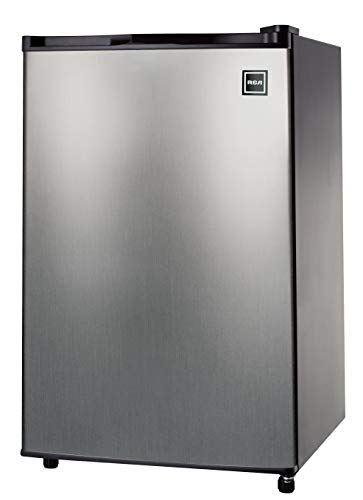 RCA RFR441 / 465  Fridge, 4.5 Cubic Feet, Stainless Steel