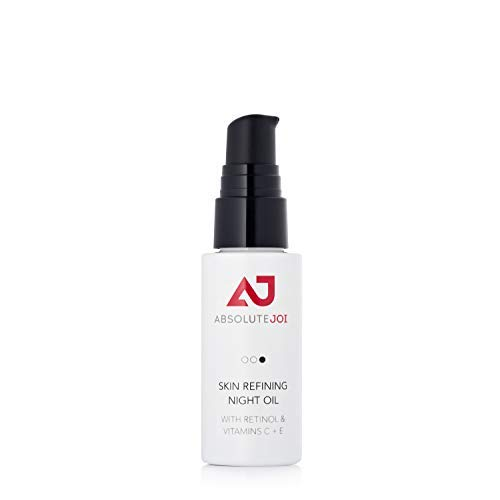 Skin Refining Night Oil with Retinol and Vitamins C+E | Jojoba, Rose Hip & Other Oils | Granactive Retinoid (Retinol) & Vitamin C | Dark Marks & Hyperpigmentation | 30ml