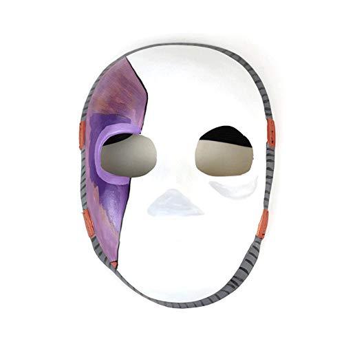 XWYWP Mscara de Halloween Juego Mscaras Cosplay Disfraz Props Mscara de ltex de Halloween