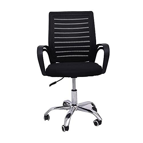 Cadeira de Escritório com Base Cromada Prizi - 828