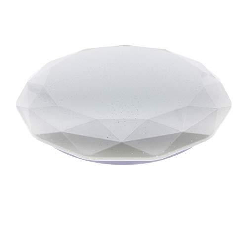 LED Lámpara de Techo 36W Interior Plafón Moderna LED de Techo Redonda Ultra fina IP 20 170-265V AC SMD 2835 Epistar Vida útil 30000 Horas De Baño Pasillo Cocina Sala Salón Comedor (Circular Dial, 36W)