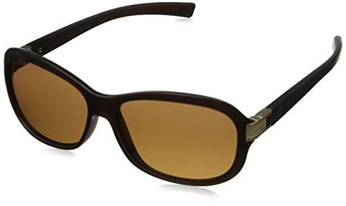 Serengeti Eyewear Damen Sonnenbrille Isola, Sanded Crystal Brown, M/L, 7942
