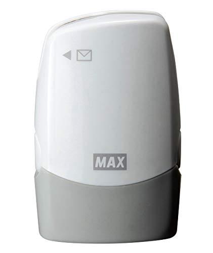 マックス 個人情報保護スタンプ レターオープナー付き コロレッタ ホワイト SA-151RL/W2