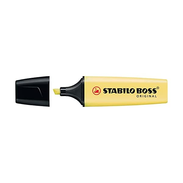Marcador fluorescente Stabilo Boss 70 pastel amarillo