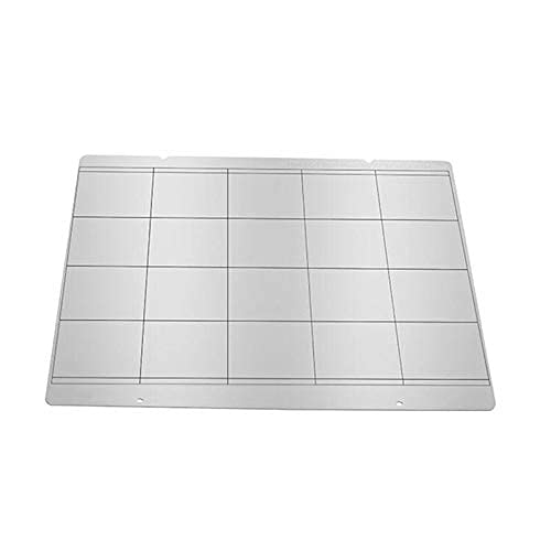 Neigei Without For TL-Smoother1pc For Prusa I3 Mk3 Mk52 Spring Steel Sheet HeatBed Platform 3D Printer Printing Buildplate 253.8 * 241mm For Reprap 3D Printer Parts
