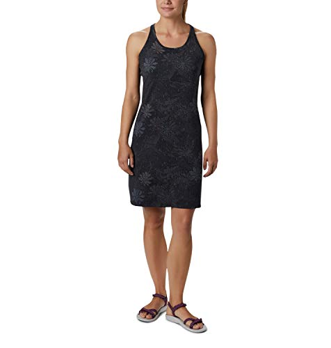 Columbia Peak To Point Vestido, Mujer, Black Got Florals, XL