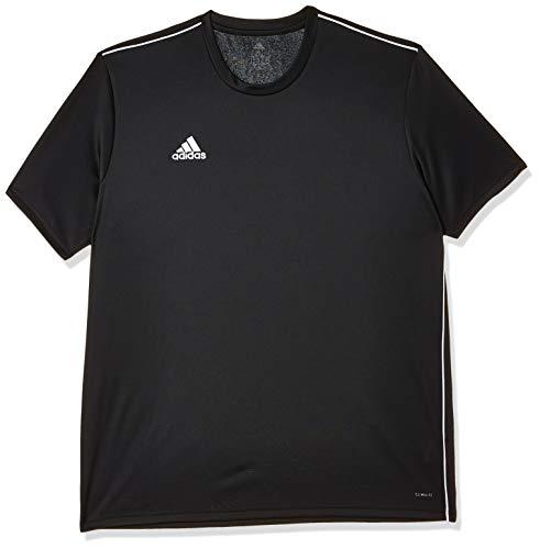 adidas Herren CORE18 JSY T-Shirt, Black/White, M