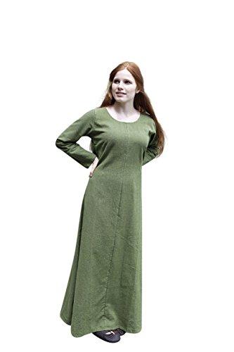 Burgschneider Mittelalter Unterkleid Freya - Lindgrün L