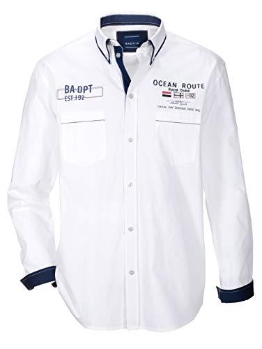 BABISTA Herren Hemd Weiß 49/50 Baumwolle
