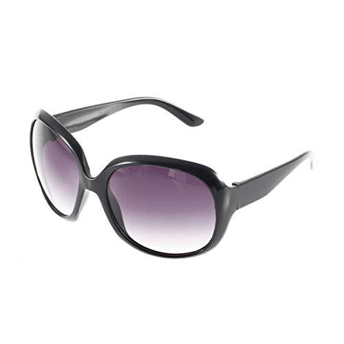 Nihlsen Gafas de sol con protección UV para mujer, montura grande, gafas clásicas, grandes ovaladas con montura, gafas para conducir