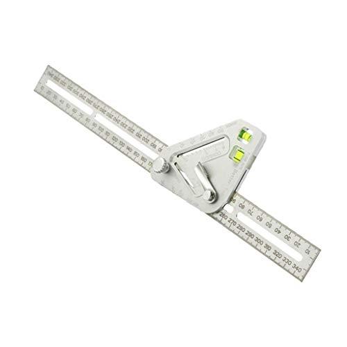 Mehrzweck-Dreiecks-Winkellineal, Wasserwaage, Winkelmesser, Holzbearbeitung, Tischlerei Werkzeug