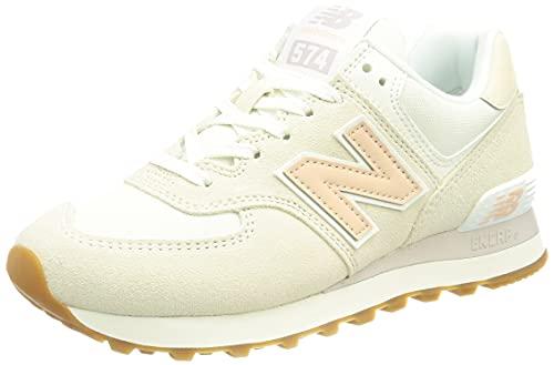 New Balance WL574NR2_38, Zapatillas Mujer, Beige, EU