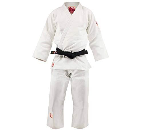 Fuji Euro Competition Judo Gi White, 5.5