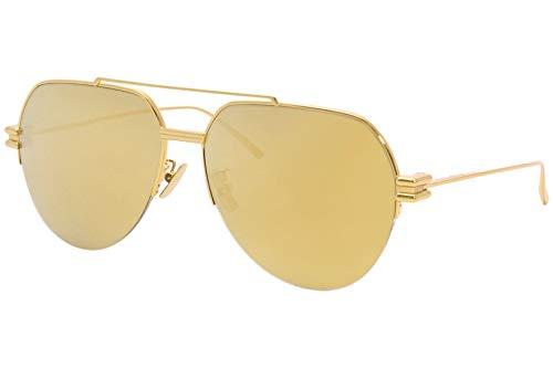 Bottega Veneta Occhiali da Sole BV1046S GOLD/GOLD 59/15/145 donna