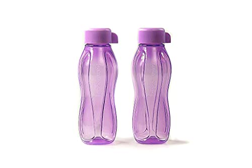Tupperware To Go Eco - Botella ecológica para agua y zumo, 310 ml, 2 unidades, color...