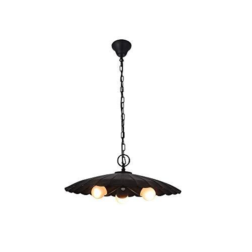 Luce Plafoniera Retro, hierro forjado, mesa de bar, araña de la tapa, lámparas clásicas de hierro forjado, araña, fresco y elegante, tamaño: D40 * H80
