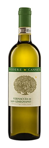 Podere Canneta Vernaccia di San Gimignano DOCG Weißwein Bio 2013 trocken ( 3 x 0.75 l)