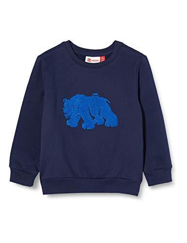 LEGO Wear Baby-Jungen LWSIRIUS 782-SWEATSHIRT Sweatshirt, Blau (Dark Navy 590), 92 (Herstellergröße: 92)