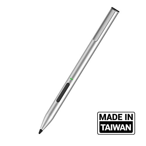 adonit Ink lápiz Digital Plata - Lápiz para Tablet (Tableta, Microsoft, Plata, Microsoft Surface, 80 h, 1 Pieza(s))
