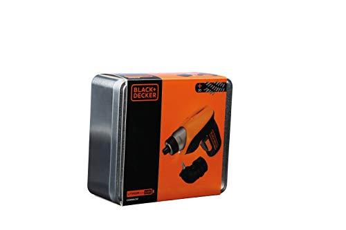 Black&Decker Mini-Akkuschrauber 3,6 Volt / 1,5 Ah + 20-teil. Zubehör - 7
