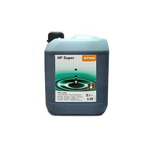 Stihl HP Súper Semi Sintético 2 Tiempos Aceite 5 Botella Litro Parte No.0781 319 8055