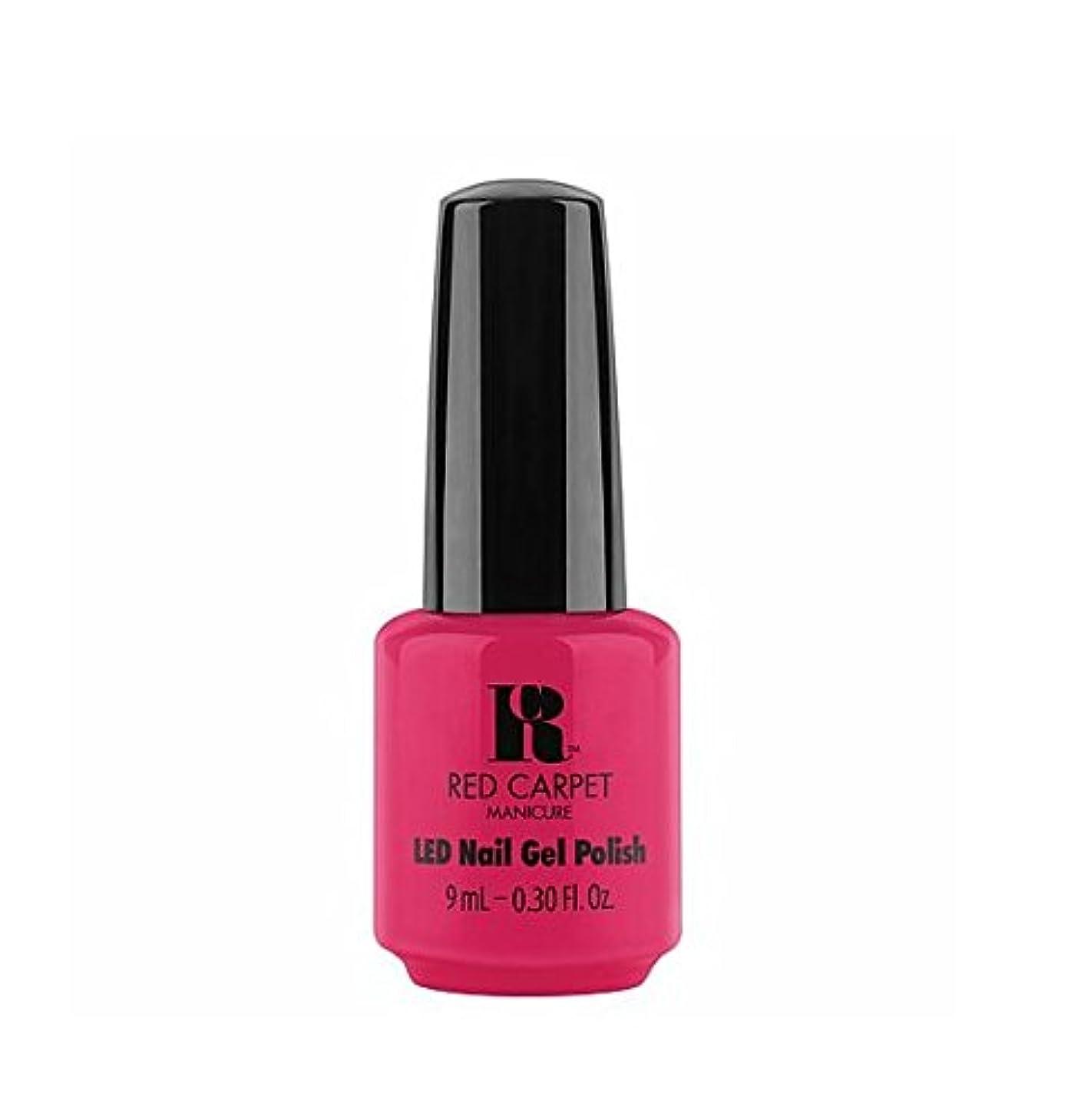 みがきます環境保護主義者お肉Red Carpet Manicure LED Gel Polish - Shot Caller - 9 ml/0.30 oz