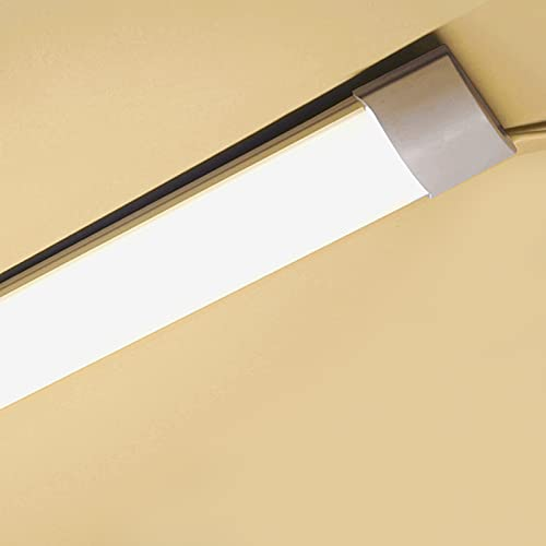 LED Light Batten, Integrated Tube Light 2FT,3FT,4FT Neutral White 4000K Wall Ceiling Mount for Garage Kitchen Office Cellar Shop Basement Warehouse School Restaurant, (2FT 60cm-Neutral White 4000K)