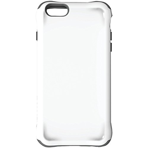 Ballistic Urbanite Case for iPhone 6 Plus 5.5-Inch and iPhone 6s Plus 5.5-Inch - Retail Packaging - White/Charcoal