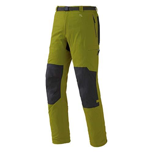 Trango Zayo FI Pantalones Largos, Hombre, Verde (Cala) / marrón (Asfalto), 2XL