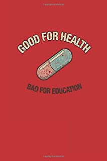 Good For Health: Akira Capsules Gang Vintage Notebook, Journal for Writing, Size 6