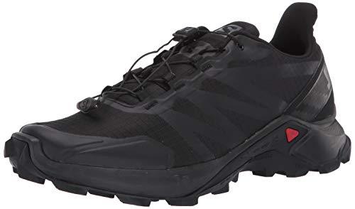 Salomon Men's Supercross Trail Running Shoes, Black/Black/Black, 11.5