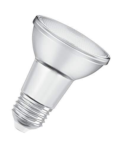 OSRAM Spot PAR20 Lampadina LED, 5 W Equivalenti 50 W, Attacco E27, Luce Calda 2700K, Confezione da 1 Pezzo