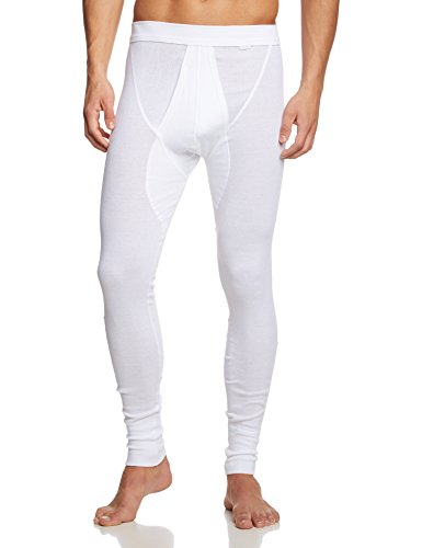Calida Herren Hose Cotton 1:1 Slip, Weiß (Weiss 001), Large (Herstellergröße: L = 52/54)