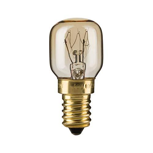 Paulmann 820.11 Birnenlampe Backofen 25W E14 300° Glas Klar 82011 Leuchtmittel
